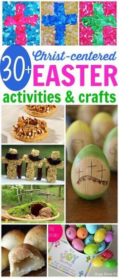 Christ-Centered Easter Activities and Crafts: Make the true meaning of Easter meaningful and memorable!