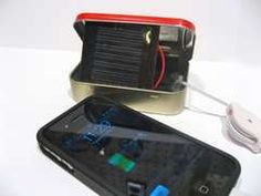 Ok, forget the batteries... go solar with this portable recharger and never let your phone die.