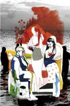 Affiche théâtre « Les Suppliantes », tragédie grecque d'après Eschyle, par Olivier Py à l'Odéon