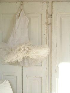 white tutu...