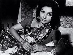 "once-upon-a-time-in-bollywood: "" Sharmila Tagore. Bollywood Cinema, Bollywood Photos, Bollywood Stars, Old Film Stars, Movie Stars, Beautiful Bollywood Actress, Beautiful Indian Actress, Shammi Kapoor, Sharmila Tagore"