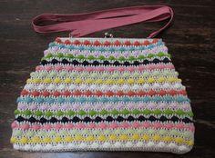 Mis obsesiones de hoy: Bolso de rayas / Striped bag