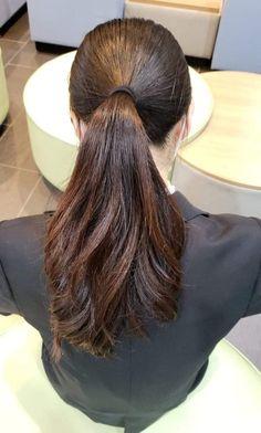Long Hair Ponytail, Bun Hairstyles For Long Hair, Braids For Long Hair, Indian Hairstyles, Braided Hairstyles, Long Indian Hair, Makeup Room Decor, Hair Buns, Long Black Hair