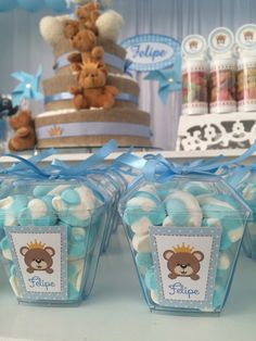 Decorating Ideas for Baby Shower Marshmallows - Anna's Baby Shower - Deco Baby Shower, Baby Shower Favors, Baby Shower Parties, Baby Shower Decorations For Boys, Boy Baby Shower Themes, Baby Boy Shower, Baby Birthday, 1st Birthday Parties, Birthday Party Decorations