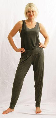 Yoga pants and Vest top WEISS Cape Town Cape Town, Capsule Wardrobe, Yoga Pants, Knits, Jumpsuit, Vest, Clothes, Tops, Dresses