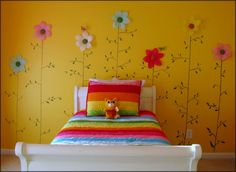 little girls grey and yellow bedroom designs - Google Search