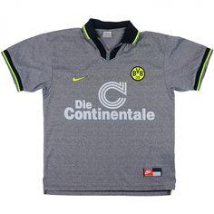 1997-98 Dortmund Away Shirt (Excellent) XXL