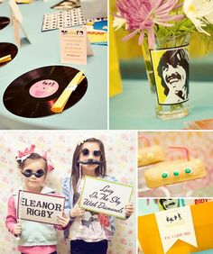 Beatles Party OMG! Is it too soon to plan for mine next year? Must do this.