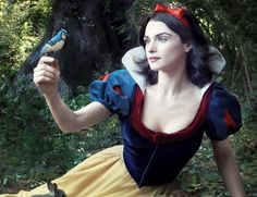Real life Snow white? Beautiful... want that dress!
