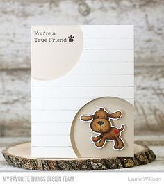 Stamps: Furever Friends Die-namics: Furever Friends, Circle STAX Set 1  Laurie Willison #mftstamps