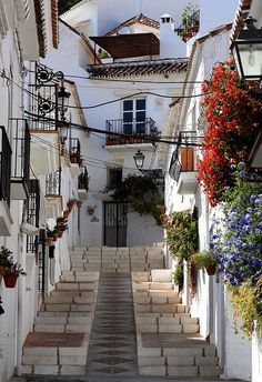 Mijas in Andalusia, Spain #ridecolorfully