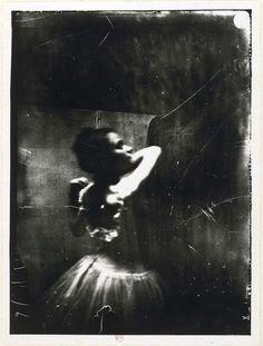 No instagram here... Dancer adjusting her shoulder strap, 1895, a photograph taken by Edgar Degas