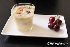 La meilleure recette de Clafoutis aux cerises façon yaourtière! L'essayer, c'est l'adopter! 4.7/5 (7 votes), 7 Commentaires. Ingrédients: Pour 12 pots : 30 cl de lait 6 oeufs 300 g de sucre 150 g de farine 30 g de beurre fondu 30 cl de crème fraîche épaisse