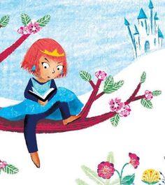 Hay princesas que viven a su aire, que leen lo que quieren y no lo que les imponen (ilustración de Sophie Robach)