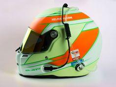 #helmade Motorsport Design on #stilo helmet. #racing #motorsport #drinkingline #racecom #pastel