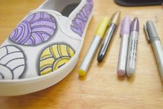 sharpie, sharpies, diy, homemade, handmade, sport,sports, volleyball, teen, teens, high school, team sports, markers, drawing, shoes, sneakers, canvas, shoes, tennis shoes
