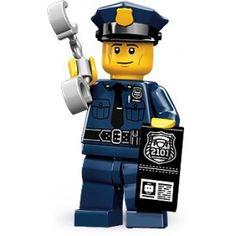 Minifigures serie 9 - le policier