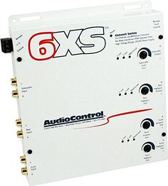 Audio Control 6XSWHITE Equalizers and Crossovers ** Want additional info? Click on the affiliate link Amazon.com on image.
