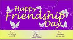 This #friendshipday make all your# friends feel special. Plan your #friendshipday #gettogether #party with www.123invitations.com…