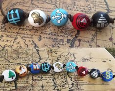 Percy Jackson beads) / Annabeth Chase beads) Camp Half Blood Necklace - Greek Gods, the Olympians, Fan Merch Percy Jackson Party, Percy Jackson Fan Art, Percy Jackson Necklace, Percy Jackson Fandom, Percy Jackson Cosplay, Percy Jackson Wallpaper, Jackson 5, Percy Jackson Birthday, Percy Jackson Outfits