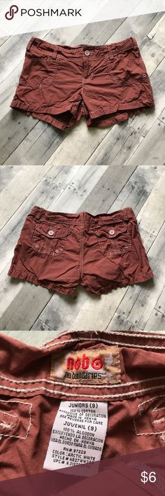"∆ 5/$15 ∆ Shorts Shorts from No Boundaries in EUC  Add ANY 4 or 9 other items with ""∆ 5/$15 ∆"" in the title for HUGE savings! 5/$15 OR 10/$25!!! No Boundaries Shorts"