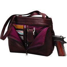 gun holder purses | ... and Gun Magazines by Triple K :: #366 Deluxe Ladies Pistol Purse