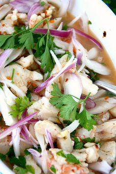 Shrimp and white fish ceviche    #CevicheKitchen