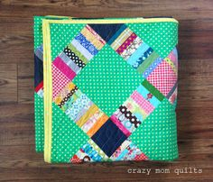 crazy mom quilts: june quilt