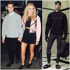 Oliver Cheshire in Alexander Wang x H&M - London Street Style http://www.whats-he-wearing.com/2014/10/oliver-cheshire-wears-alexander-wang-x-hm.html?spref=tw
