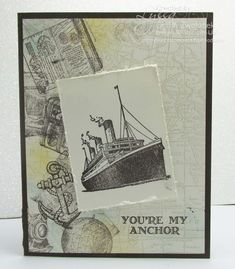 Guy Greetings Nautical masculine Stampin Up card