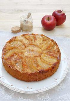 Torta di mele rovesciata senza burro. Facile e deliziosa Apple Recipes, Sweet Recipes, Delicious Desserts, Dessert Recipes, Torte Cake, Bakery Cakes, Sweet Cakes, Cake Cookies, Italian Recipes