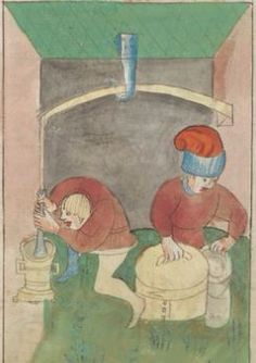 Kriegstechnik (Bilderhandschrift) Oberrhein · um 1420-1440 Ms. Rh. hist. 33b  Folio 66r