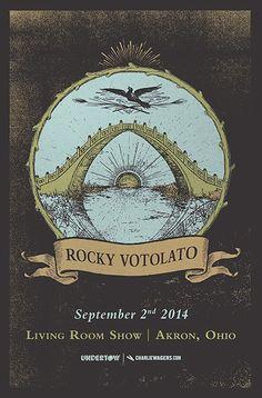 GigPosters.com - Rocky Votolato