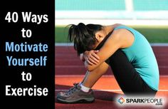 40 Things to Try When You Don't Want to Work Out | SparkPeople