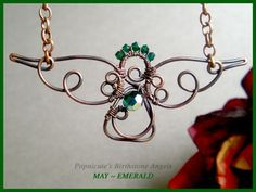 wire wrap angels - Google Search