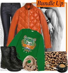 """""""Bundle up with style"""" by karineminzonwilson ❤ liked on Polyvore"""