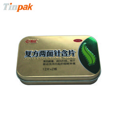 Mint Boxes Custom Tins with hinge lids, Easy open and convenient to be carried. http://www.tinpak.com