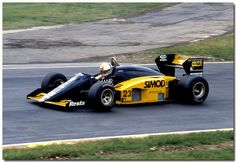 Andrea de Cesaris Minardi M186 F1 1986 British GP Brands Hatch