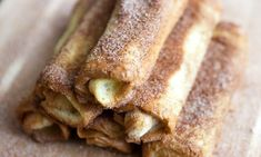 stuffed french toast roll-ups  These would be amazing with fresh blueberries or slices strawberries and cream cheese!