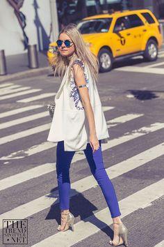 New York Street Style Dasha Gold