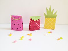 Make   party | Summer fruit gift bags