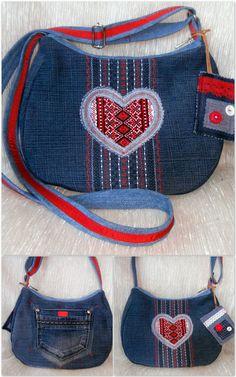 little denim bag