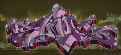 graffiti Graffiti Pictures, Graffiti Styles, Street Mural, Street Art Graffiti, Graffiti Bridge, Graffiti Tagging, Wildstyle, Graffiti Lettering, Weird Art