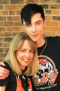 Andy and his mom