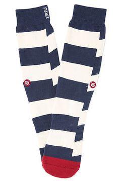 Stance Socks Dead Sea Socks in Navy