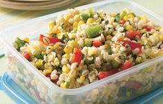 Barley Corn and Pepper Salad