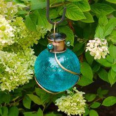 Vintage Edi-Sol Solar Light Bulb (Set of 2) - EchoValley.com Solar Light Bulb, Solar Lights, Solar Lanterns, Hanging Lanterns, Landscape Lighting, Outdoor Lighting, Blue Lantern, Outdoor Settings, White Lead