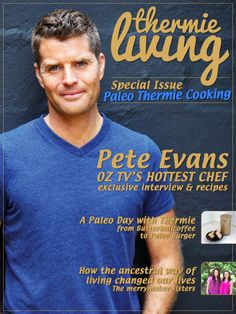 80 pages full of Paleo recipes and information. Exclusive interview with Chef Pete Evans. Get the PDF version at https://www.paypal.com/cgi-bin/webscr?cmd=_s-xclick&hosted_button_id=JBVGEFRQ99DU6 for only $8.99