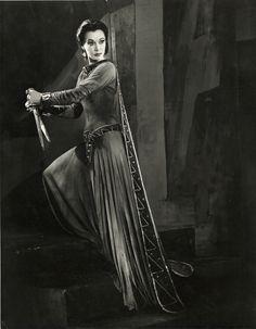 Vivien Leigh as Lady Macbeth, Macbeth, 1955. Photo by Angus McBean.