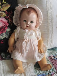 American Character Dolls For Sale | for sale is an adorable vintage tiny tears doll she measures 12 1 2 ...
